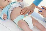 Hydratation avec massage du ventre poster