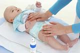 Bébé - Hydratation de la peau poster