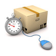 Stopwatch Packing Case Mouse