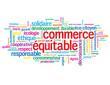 """Nuage de Tags """"COMMERCE EQUITABLE"""" (label garantie consommateur)"""