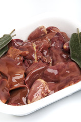 chicken liver or rigaie