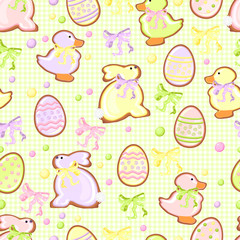 background with cookie green