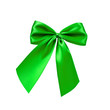 Grüne Bandschleife