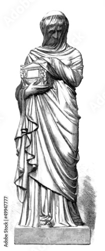 Ancient Rome : Patrician Widow - Veuve - Wittwe