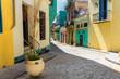 Colorful street in Old Havana