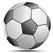 soccer ball - vector illustration