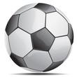 soccer ball - vector illustration