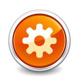 button orange gear