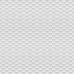Grey hexagons background