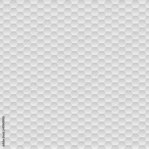 Grey hexagons background
