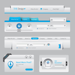 Web Design Navigation Elements 06