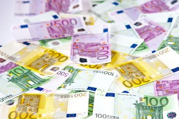 Geldschein als Hintergrund