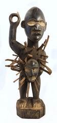 Fétiche à clous africain - Statuette