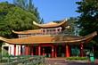 Pagoda in Haw Par Villa Gardens in Singapore