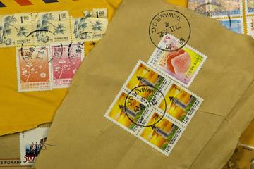 Alte Briefmarken Taiwan 1939