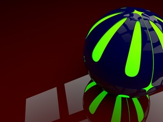 background ball