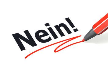 Stift- & Schriftserie: Nein!