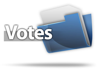 "3D Style Folder Icon ""Votes"""