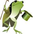 high-hat frog