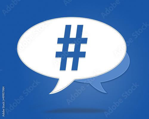 hashtag - diese