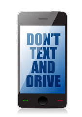 do not text and drive cell message