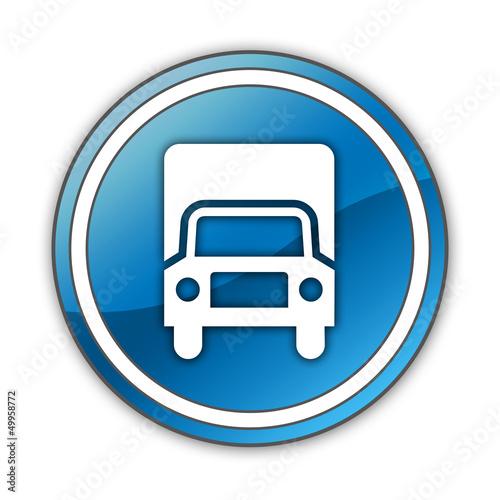 "Glossy Button ""Trucks"""