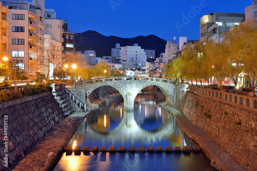 Nagasaki's Historic Megane Bridge