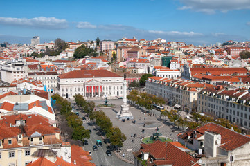 Lisboa - Praça de D. Pedro IV