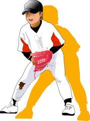 野球少年@守備