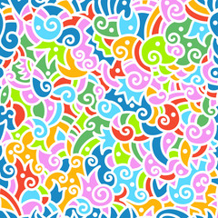 Seamless hand drawn pattern