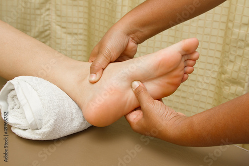reflexology foot  massage,foot  spa treatment