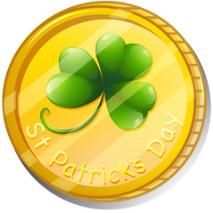 A token for St. Patrick's Day