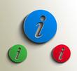 vector information web icon design element.