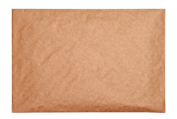 Empty brown envelope