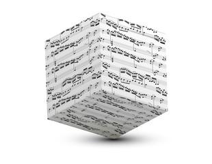 cube partition de musique