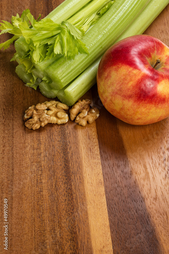 ingredients for waldorf salad