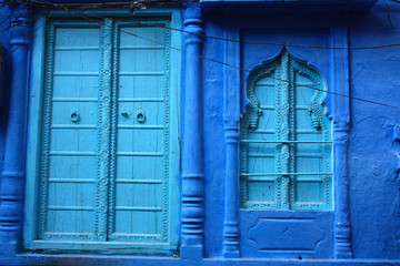INDIA. JODHPUR BLUE CITY