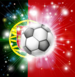 Portugal soccer flag