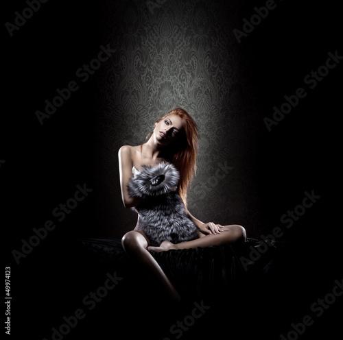 Fototapeten,verlockend,allein,ass,attraktiv