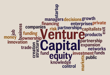 Venture Capital Word Cloud