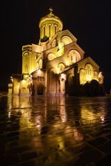 Sameba, St. Trinity cathedral in Tbilisi, Georgia