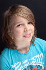 Portrait eines Jungen