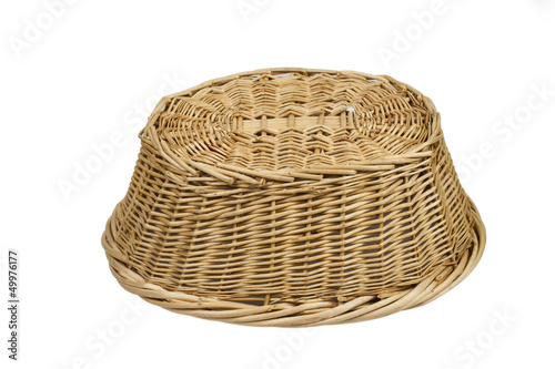 basket on the white background