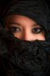Portrait of a beautiful multi racial girl