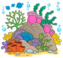 Coral reef theme image 1