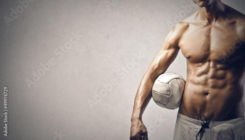 Fototapeten,muskel,mann,körper,ball
