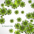 Abstract background of St Patrick Day colorful vector design