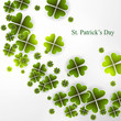 St. Patrick's Day background presentation Vector illustration