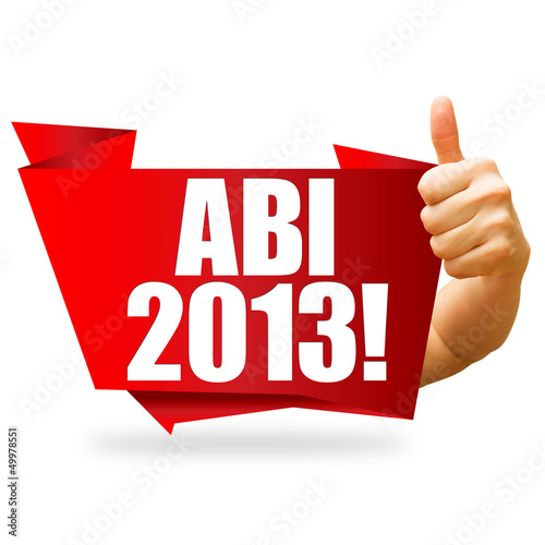 ABI 2013! Button, Icon