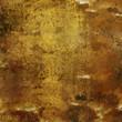 Fond grunge doré